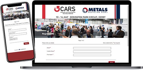 Customise the look of the registration site